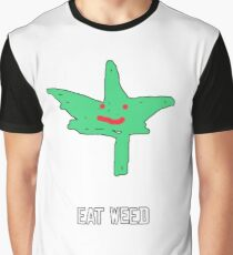 Eat Weed Graphic T-Shirt