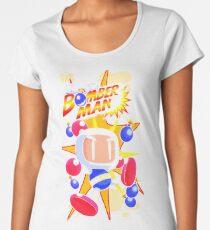 Saturn Bomberman Women's Premium T-Shirt