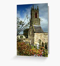 Clock Tower, Holywood Priory Church Greeting Card