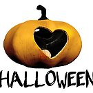 I love Halloween - pumpkin lantern by cglightNing
