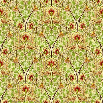 The Daffodil Abstract Design by JoolyA