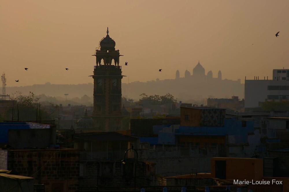 Sunrise, Jodhpur, 2007 by Marie-Louise Fox