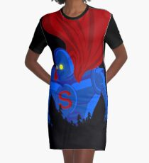 SUPER GIANT Graphic T-Shirt Dress