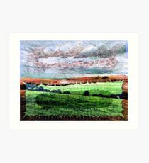 Broken Landscape Art Print