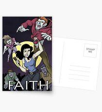 Have a Little Faith - Buffy Inspired Art Postcards