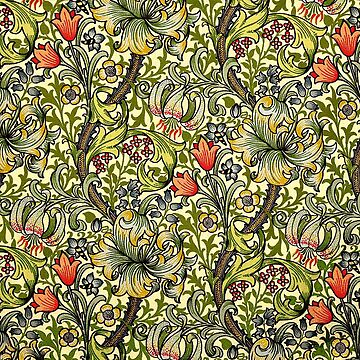 William Morris Golden Lily by JoolyA