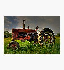 Farmall Field Of Green Photographic Print