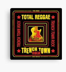 Total Reggae Trench Town Rock Canvas Print