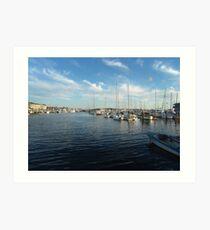 Newport Harbor Art Print
