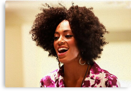 Solange ©Michael Roman by #PoptART products from Poptart.me