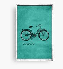 Retro Bicycle Pop Art 'Explore'. Canvas Print