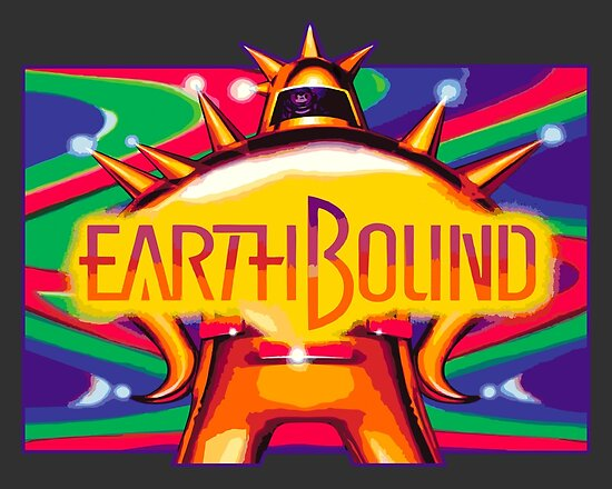 'EarthBound (SNES)' Poster by winscometjump