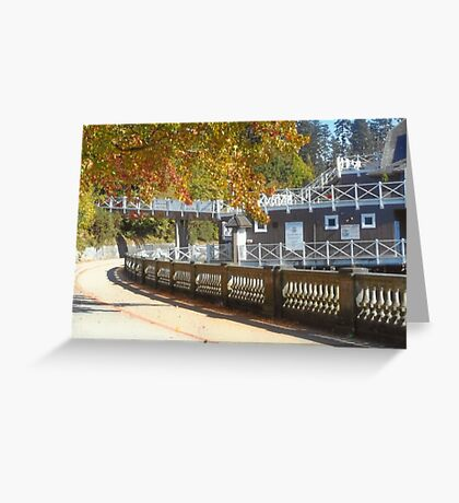 Stanley Park Sea Wall Greeting Card