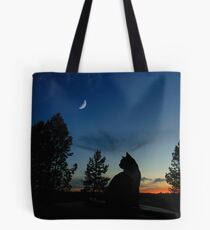 Warrior Cats - Silhouette Tote Bag