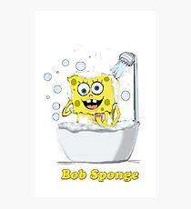 Bob Sponge Photographic Print