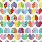 love heart pattern by creativemonsoon