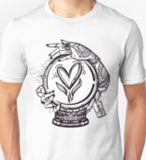 Psychic Reader with Crystal Ball T-Shirt