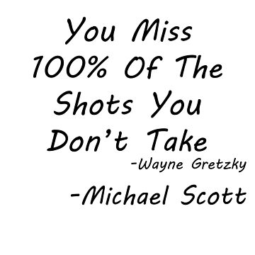 Michael's Wayne Gretzky quote by GnomeRockCinema