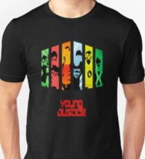 young justice black Unisex T-Shirt