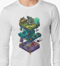 Dungeons and Isometric Dragons Long Sleeve T-Shirt