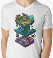 Dungeons and Isometric Dragons Men's V-Neck T-Shirt