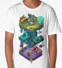 Dungeons and Isometric Dragons Long T-Shirt
