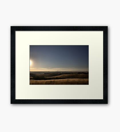 Donny Brook - Melbourne Framed Print