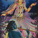 Radharani's dance by Vrindavan Das