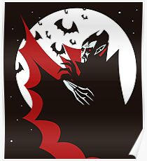 evil vampire in the night Poster