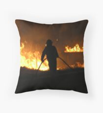 hell's entry Throw Pillow