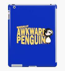 Socially Awkward Penguin - Mia iPad Case/Skin