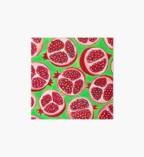 Pomegranate pattern design Art Board