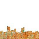 Fort Wayne, Indiana-Skyline - Rost von Marlene Watson