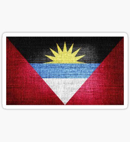Antigua & Barbuda Flag Sticker