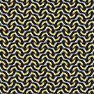Gold Chain Optical Pattern by webgrrl