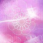 Mandala : pink love by danita clark