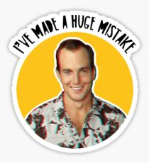 I've made a huge mistake - Gob Sticker
