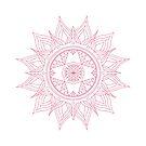 Mandala : Pink Party by danita clark
