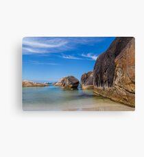 Elephant Rocks Beach Canvas Print