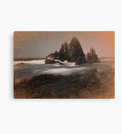 Rocky Impressions Canvas Print