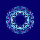 Mandala : Mosaic Mix by danita clark