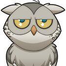 Annoyed Owl [Leopard] by Plague Docteur