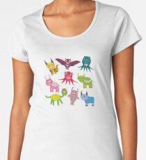 Cartoon monsters Women's Premium T-Shirt