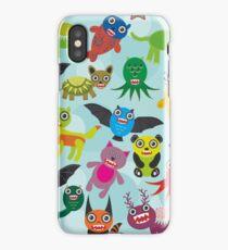 Cartoon monsters iPhone Case/Skin