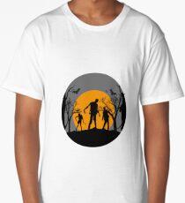 TrickORTreat Halloween Zombie  Long T-Shirt