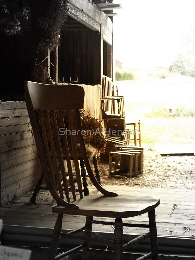 CHAIR IN THE BARN by Sharon A. Henson