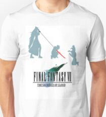 Final Fantasy VII The Sacrifice Of Cloud T-Shirt