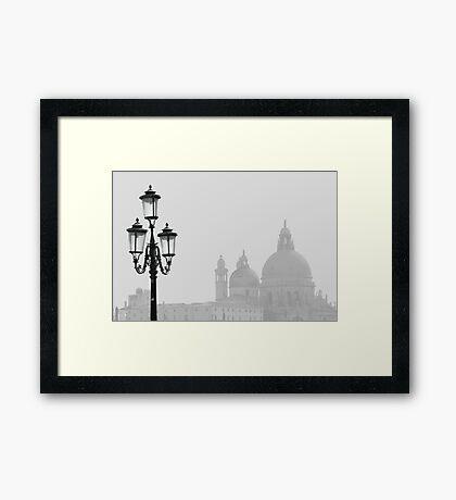 Venice - Sea Mist Framed Print