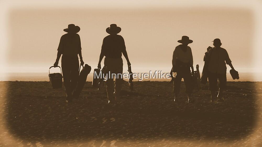 #534   Retro Beach Picnic by MyInnereyeMike