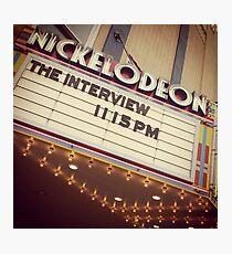 Nickelodeon Photographic Print